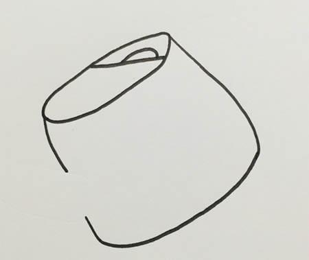 浇水壶怎么画简笔画步骤教程-浇水壶简笔画