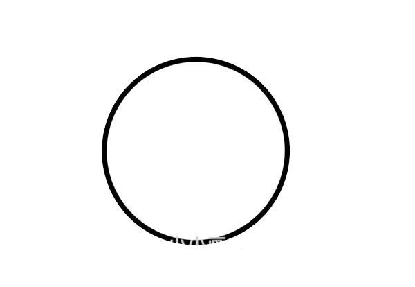 七星瓢虫简笔画步骤画法图片