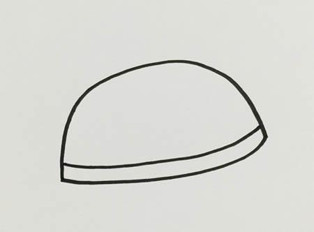 草帽怎么画简单又漂亮-草帽简笔画