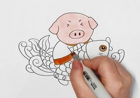 年画简笔画怎么画简单又漂亮