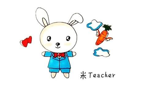 爱吃胡萝卜的小兔子简笔画教程