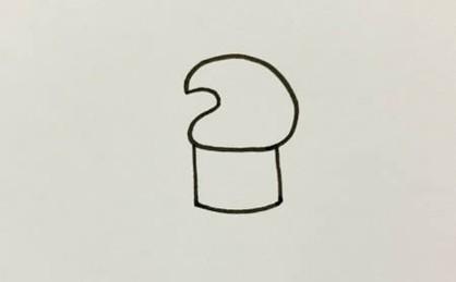 卡通牙膏简笔画教程