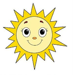 可爱的卡通太阳简笔画步骤图片大全