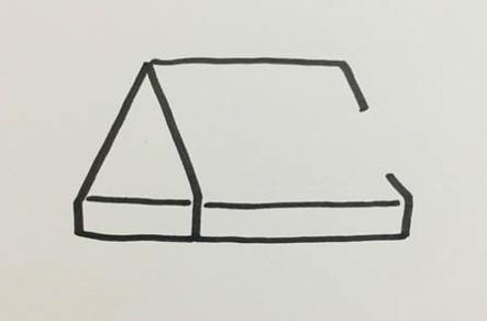 卡通垃圾桶简笔画怎么画