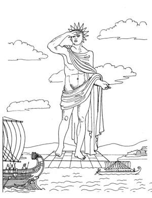 世界八大奇迹之一 罗德岛太阳神巨像