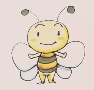蜜蜂简笔画 卡通蜜蜂简笔画画法步骤图片大全