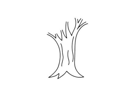 苹果树简笔画画法步骤图片