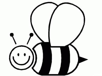 小蜜蜂简笔画 小蜜蜂简笔画步骤图片大全