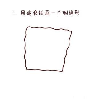 海绵宝宝简笔画教程