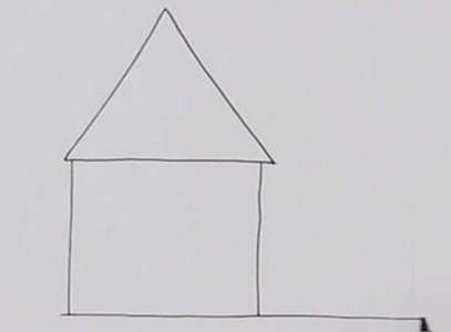 房子简笔画图片带颜色步骤教程
