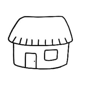 幼儿房子简笔画大全