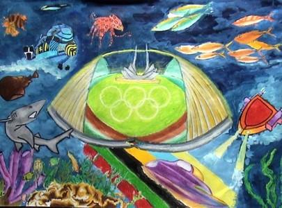 海底奥运馆