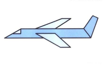 卡通航天飞机怎么画