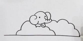 非常简单的动物园简笔画