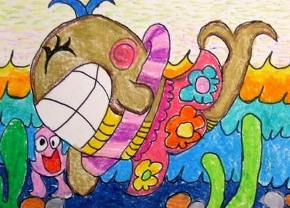 快乐的鲸鱼