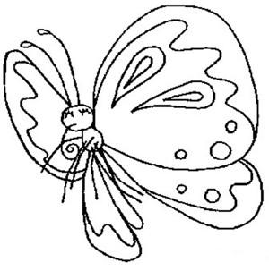 蝴蝶简笔画一 蝴蝶简笔画步骤图片大全