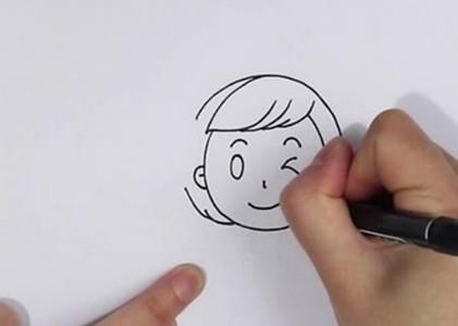 短发妈妈简笔画全身画步骤,妈妈简笔画简单又漂亮