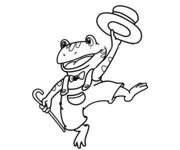 变魔术的青蛙先生