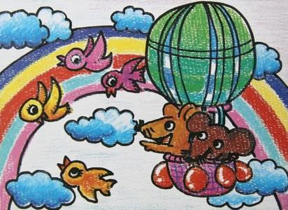 数字油画-美丽的彩虹