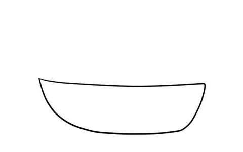 小帆船简笔画彩色画法