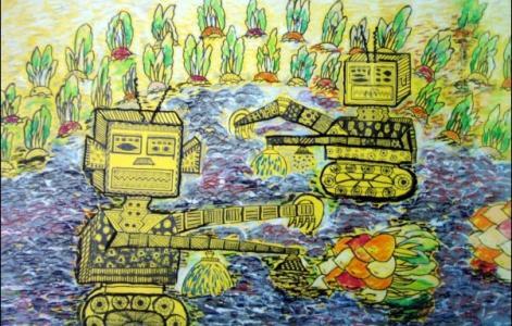 机器人拨萝卜