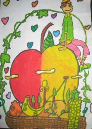 苹果成长过程