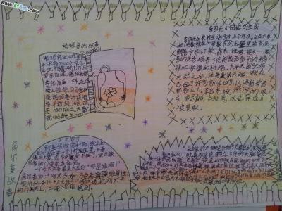 四年级名人故事手抄报作品3张