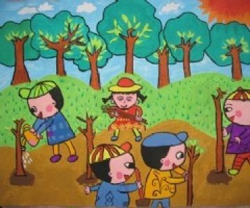 大家一起来植树