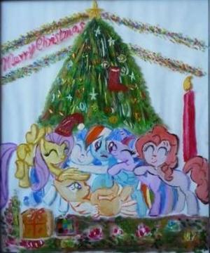 小马驹的快乐圣诞