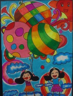 彩色的气球