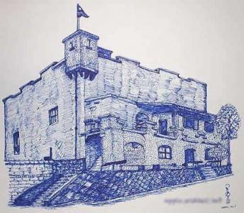 儿童画城堡图片大全-美丽的城堡