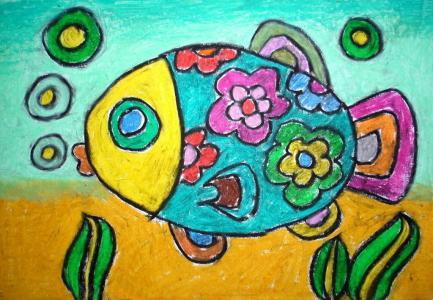 美丽的海鱼