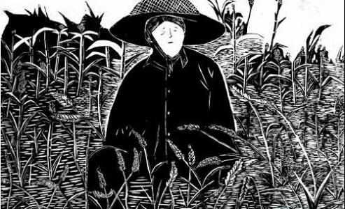 稻草人儿童-我是一个稻草人