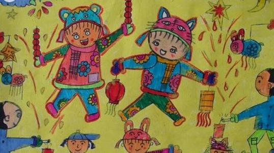 冰糖葫芦儿童画-我的冰糖葫芦