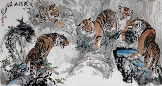 老虎的家庭
