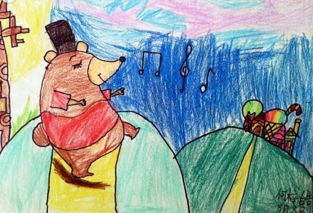 和小熊跳舞